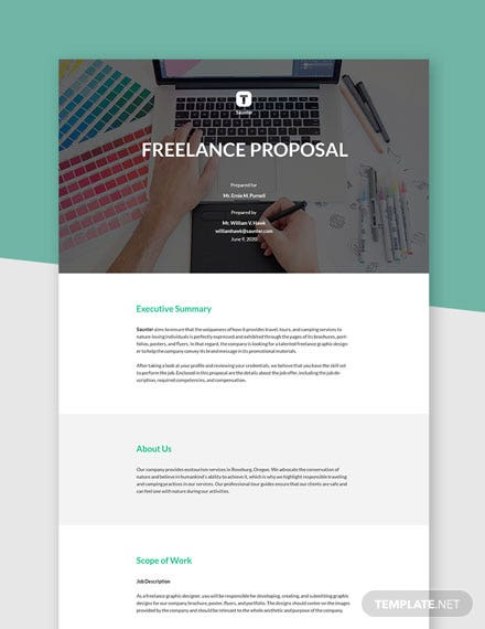 Basic Freelance Proposal Template