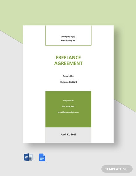 Free Sample Freelance Agreement Template