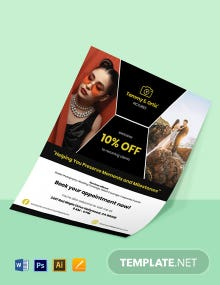 Freelance Services Flyer Template