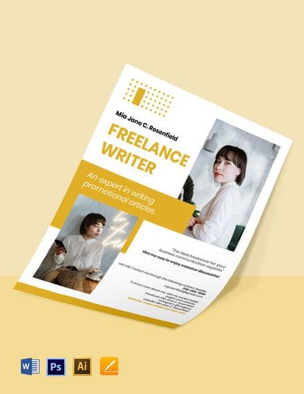 Creative Freelance Flyer Template