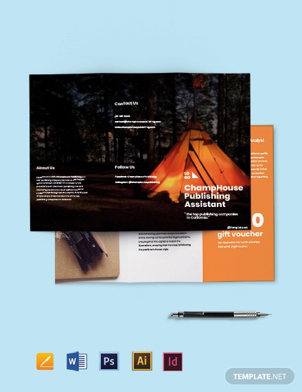 Free Tri-Fold Freelancer Brochure Template
