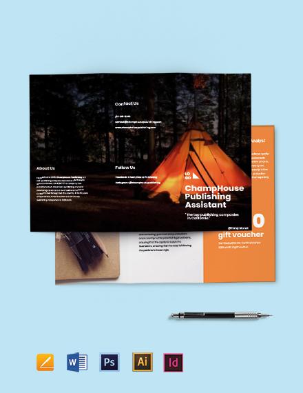 Tri-Fold Freelancer Brochure Template