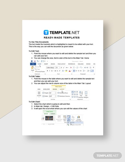 Work From Home Task SheetTemplate