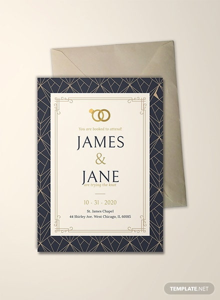 Sample Invitation Card Template