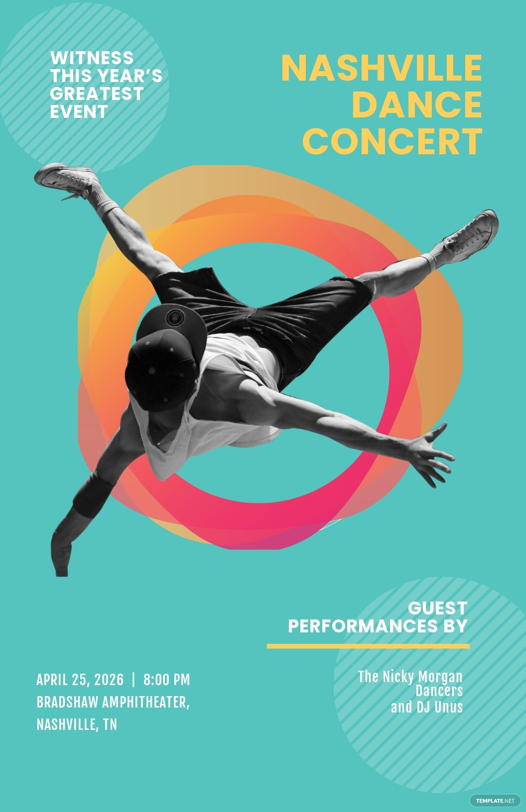 Free Dance Concert Poster Template.jpe