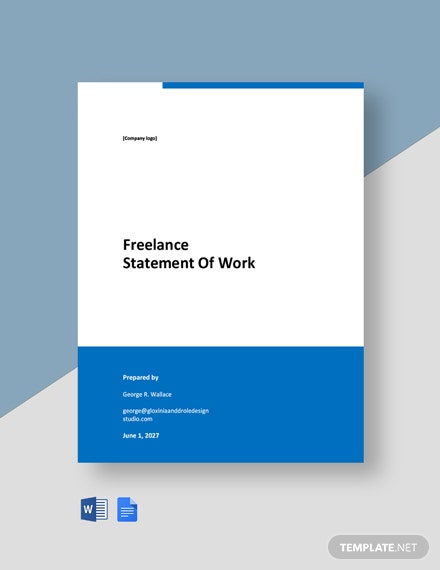 Freelance Statement of Work Template