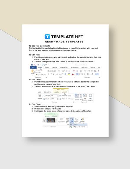 Freelancer Letter Of Agreement Instructions