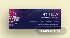 4th of July Facebook Event Cover