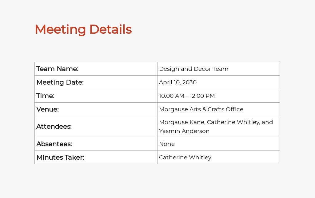 Free Simple Freelance Meeting Minute Template 1.jpe