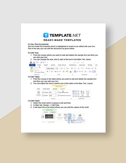 Freelance Job Timeline Instructions