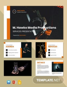 Freelance Service Presentation Template