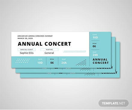 free event ticket templates download ready made template net