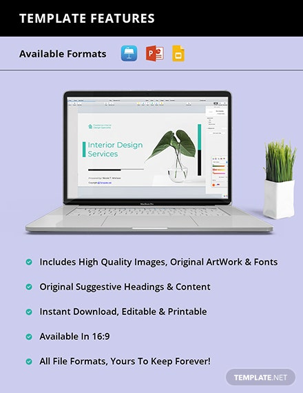 Free Sample Freelancer Presentation Template guide