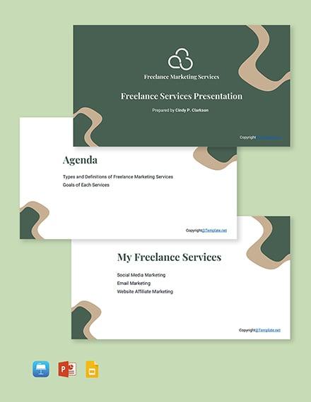 Freelance Presentation Template