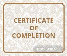 Free course completion certificate template in adobe photoshop free project completion certificate template yelopaper Image collections