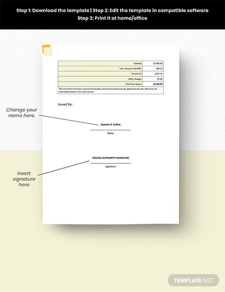 Freelance Hourly Invoice Template format