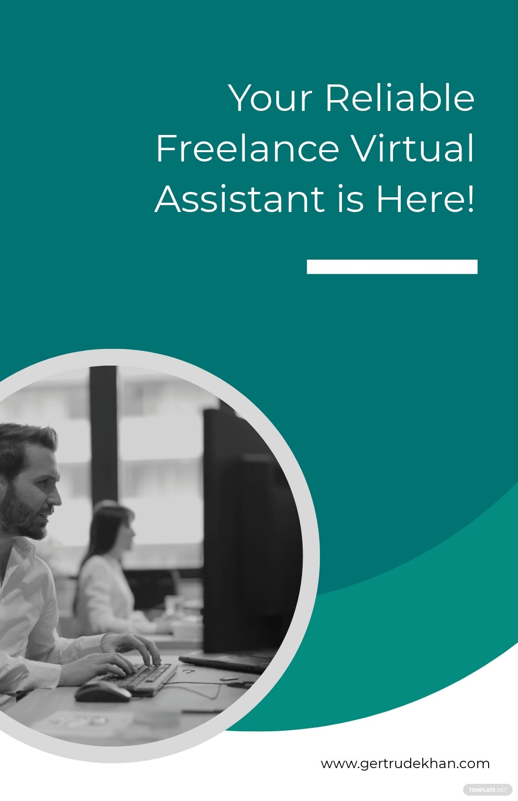 Freelancing Poster Template
