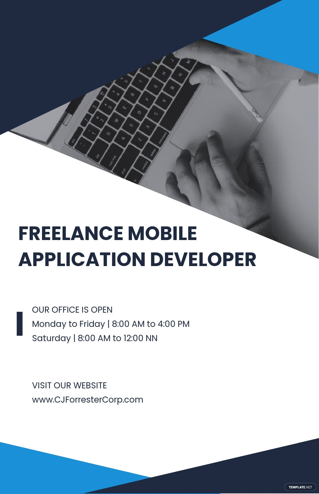 Freelance Poster Template