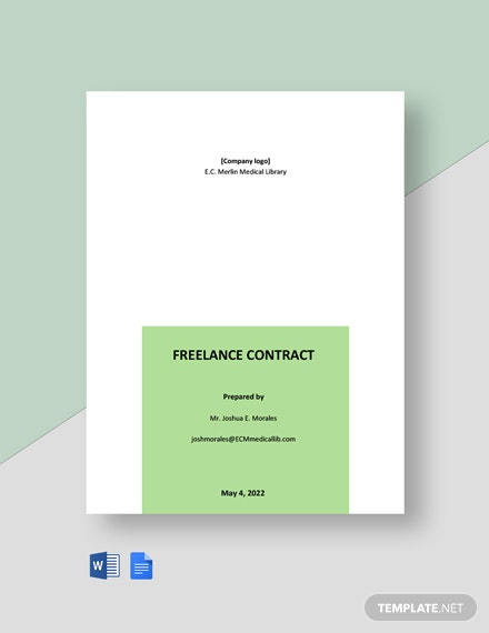 Free Simple Freelance Contract Template