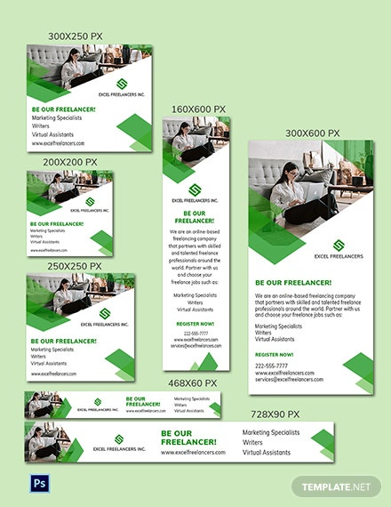 Freelance Job Ads Template