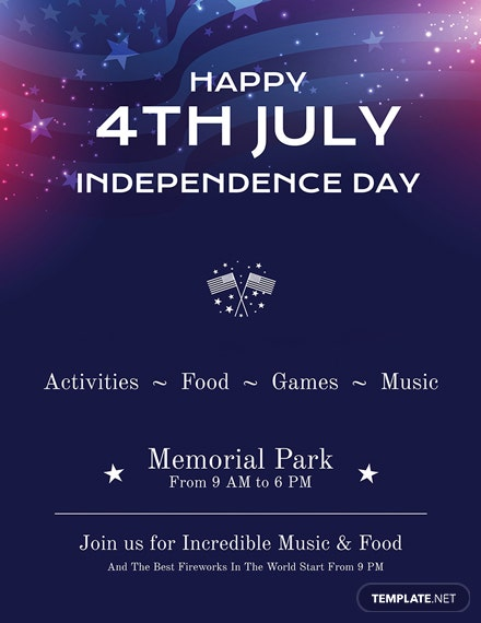 Free 4th of July Poster