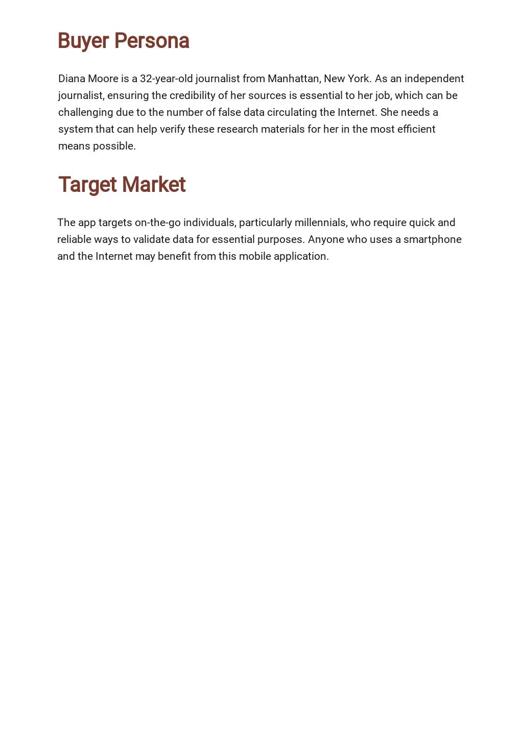 Free Sample Freelance Marketing Plan Template 2.jpe
