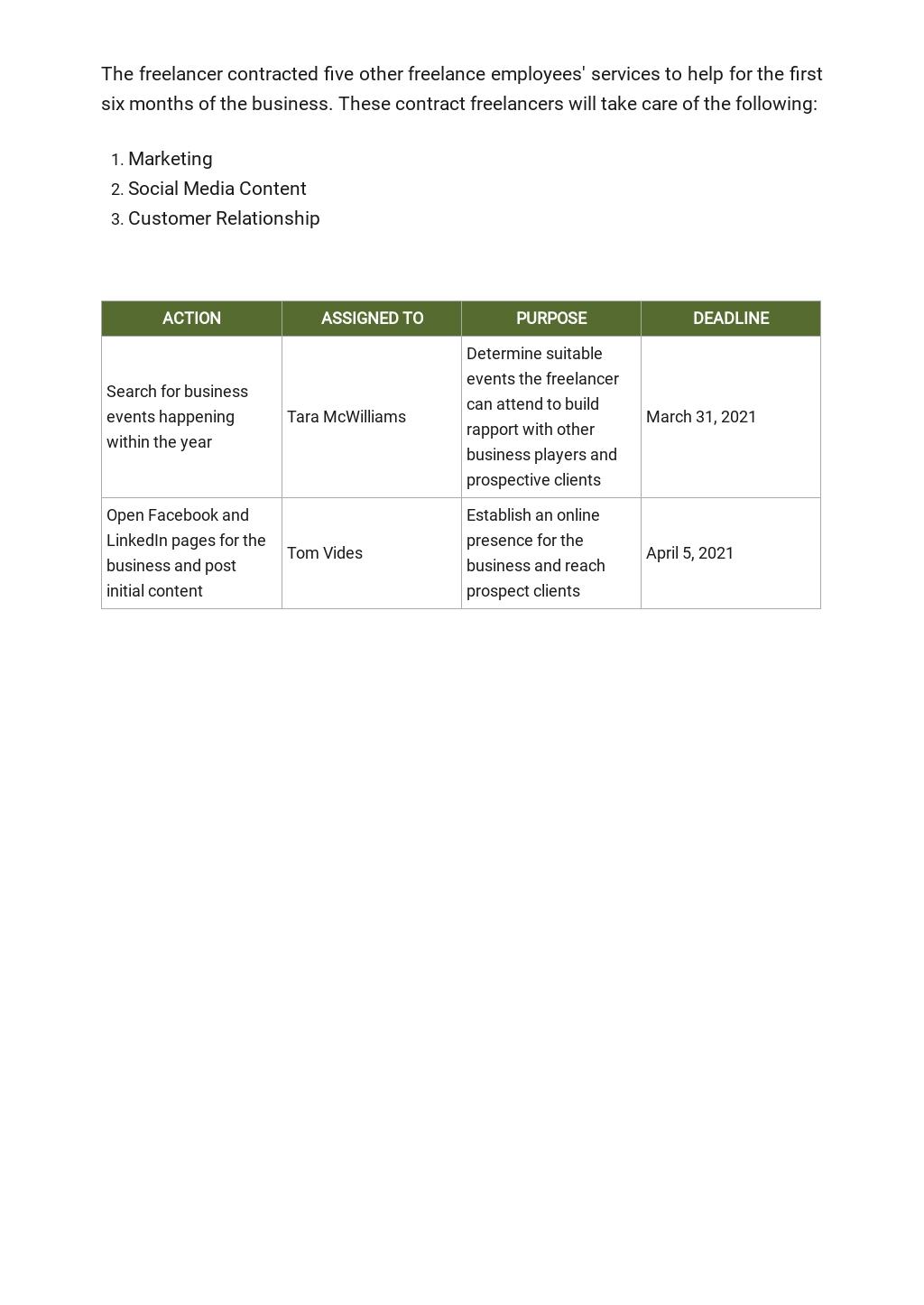 Free Simple Freelance Business Plan Template 5.jpe