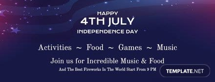 4th of July Tumblr Banner