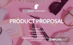 Product Proposal