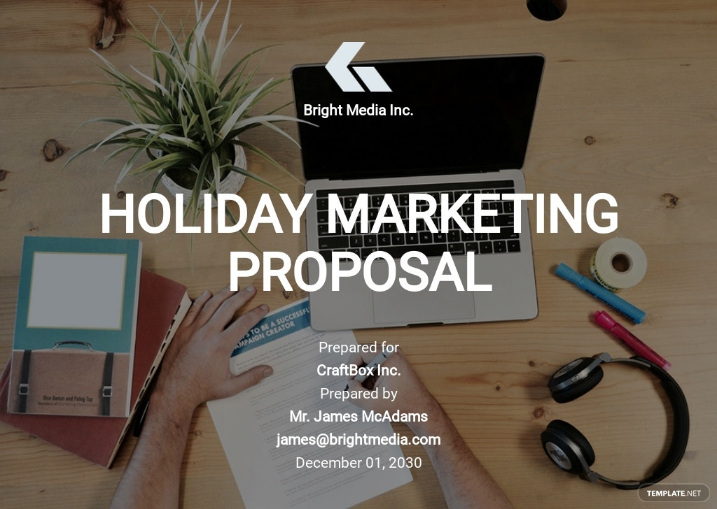 Marketing Proposal Sample Template