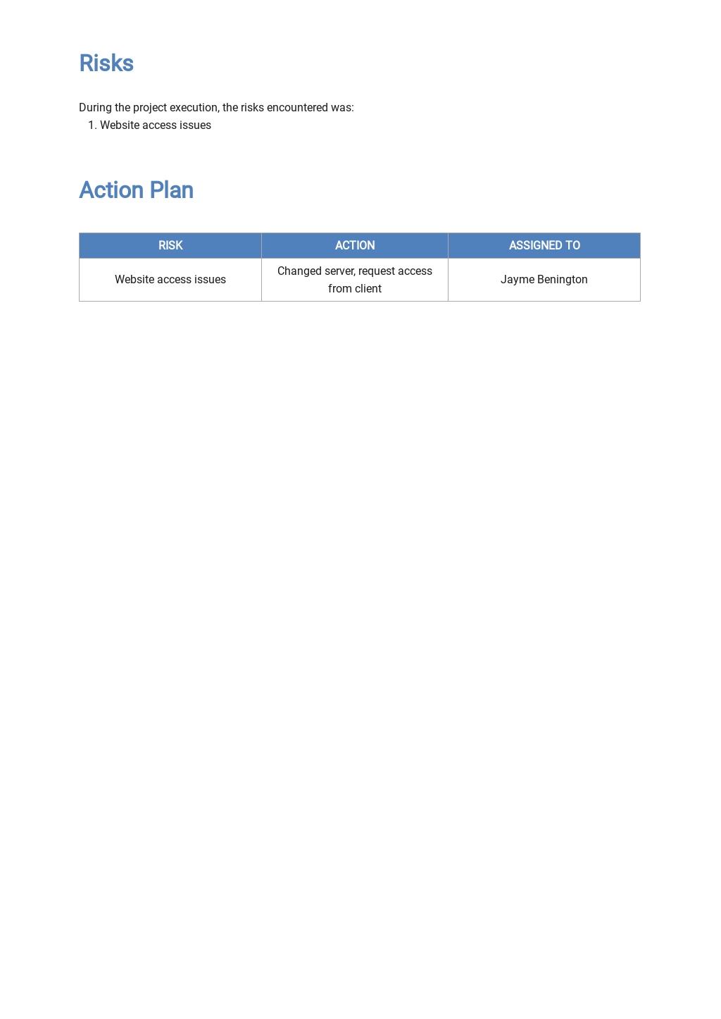 Professional Client Progress Report Template 3.jpe