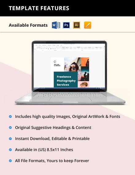 Freelance Advertisement Flyer Template guide
