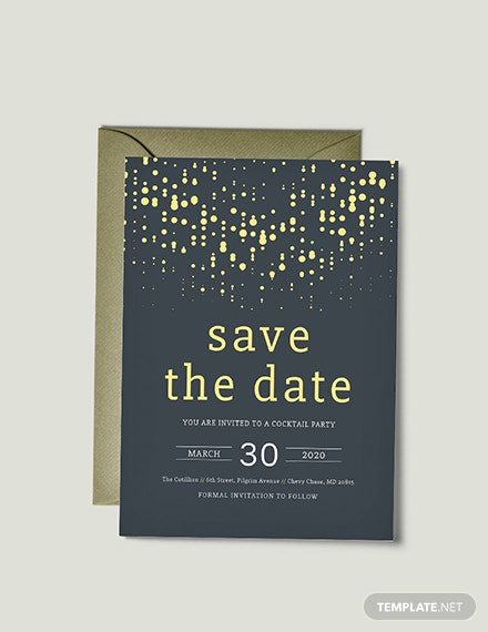 Free save the date invitation template download 344 for Publisher save the date templates