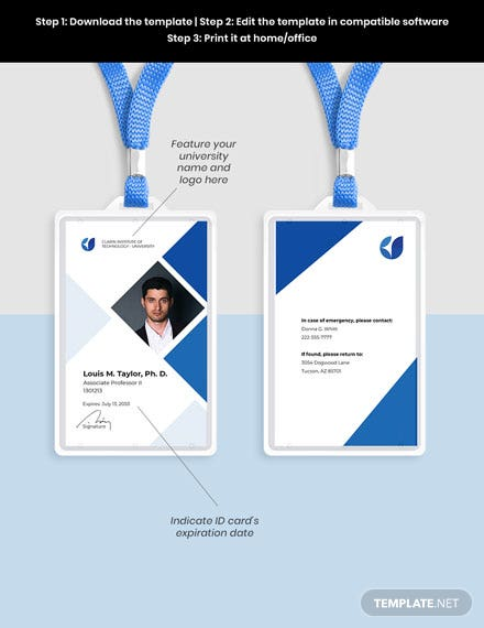 Faculty ID Card Guide