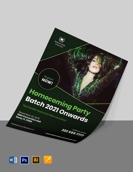 University Event Flyer Template