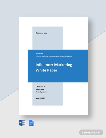 Influencer Marketing White Paper Template