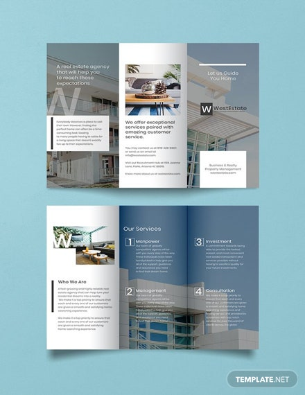 free commercial real estate brochure template download 151