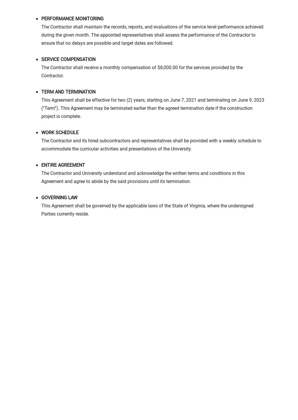 University Service Level Agreement Template 2.jpe