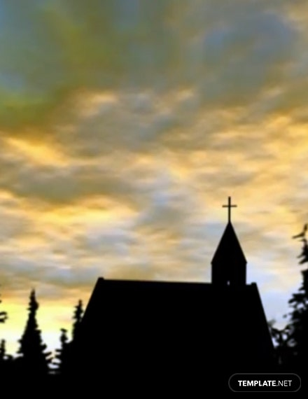 Church Zoom Virtual Background Template