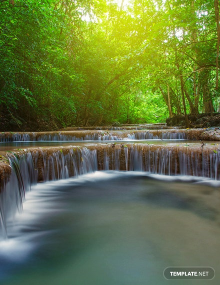 Nature Zoom Virtual Background Template
