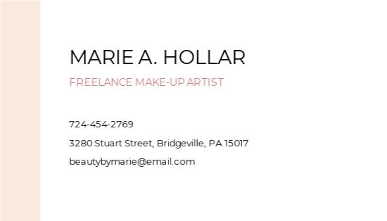 Professional Freelance Makeup Artist Business Card Template 1.jpe