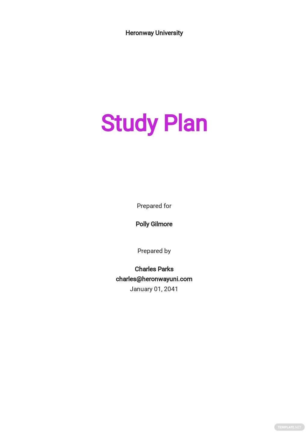 University Study Plan Template.jpe