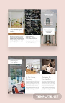 Home Real Estate Brochure Template