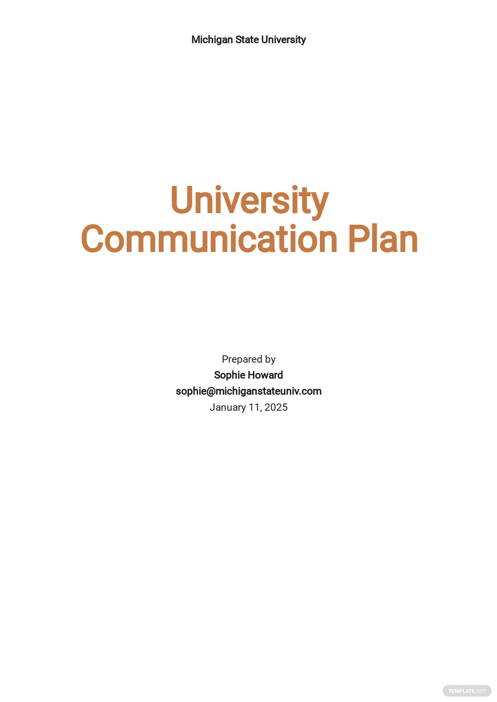 University Communication Plan Template.jpe