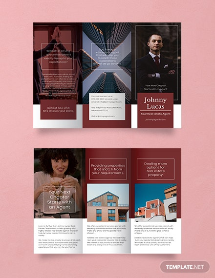 Free Real Estate Agent Brochure Template
