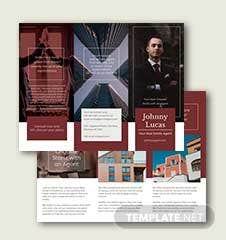 Real Estate Agent Brochure Template