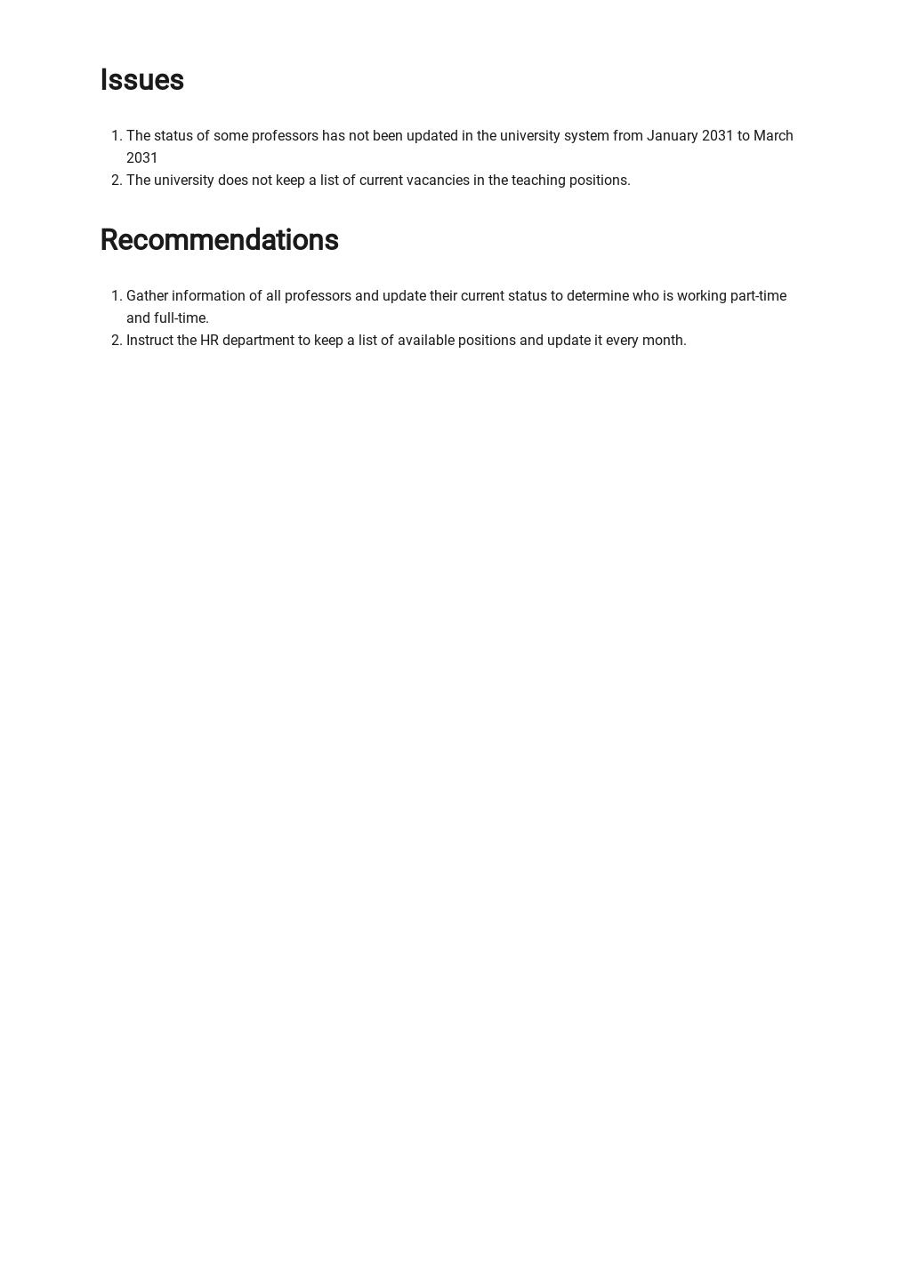 Free Sample University Report Template 2.jpe