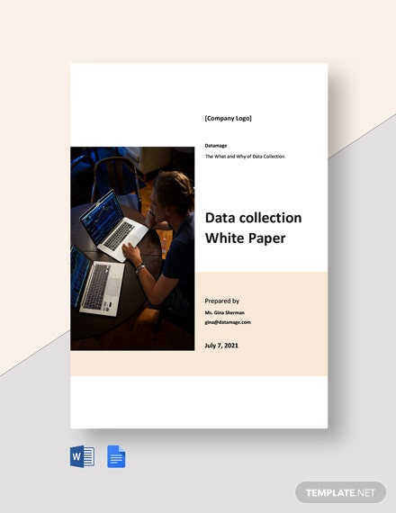 Data collection White Paper Template
