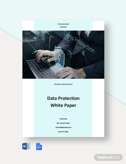 Data Protection White Paper Template