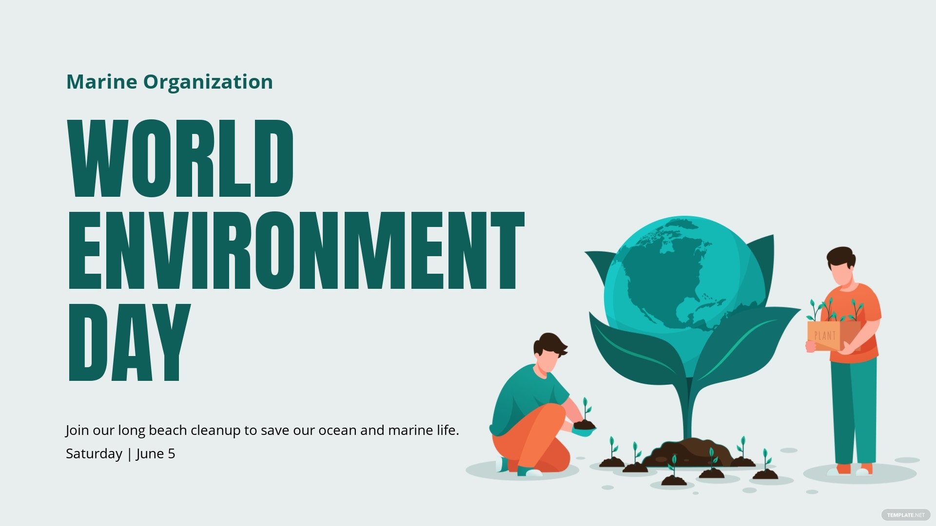 World Environment Day Facebook Event Cover Template